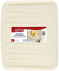 Rubbermaid Antimicrobial Drain Board, Large, Bisque 742096